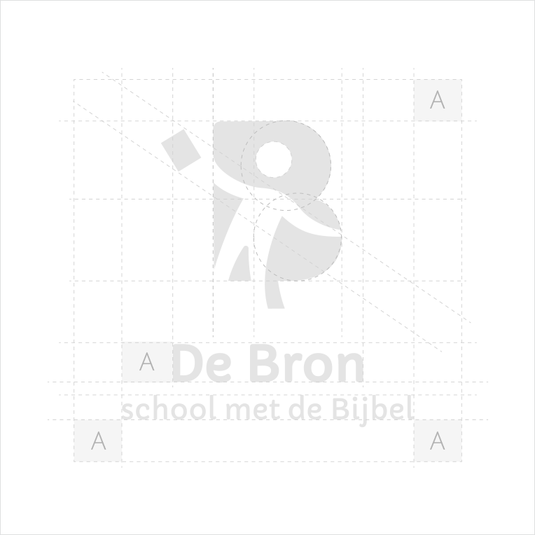 Logo Basisschool De Bron Schets