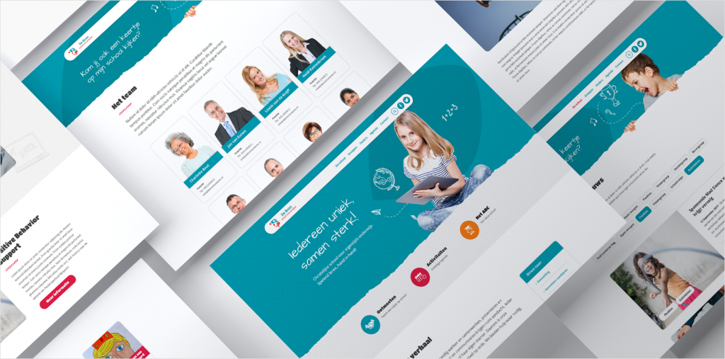 Webdesign School De Bron