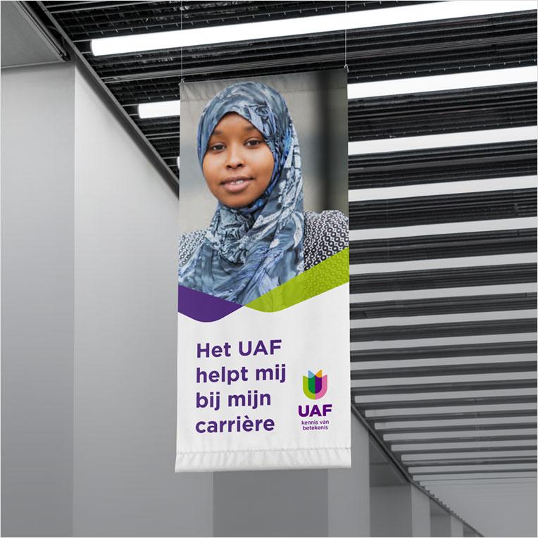 Ontwerp banner