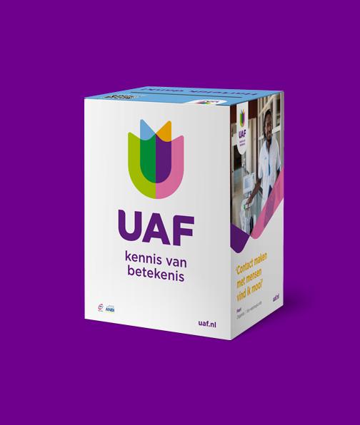 huisstijl en webdesign UAF