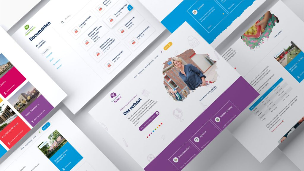 website school ontwerp